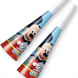 6 Trompete Petrecere copii MICKEY PLAYFUL