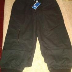 Pantalon Adidas material de blugi - Pantaloni barbati Adidas, Marime: L, Culoare: Negru