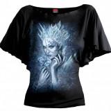 Tricou Spiral Direct femei - Regina de gheață (Mărime: L)