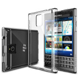 Husa Protectie Spate Ringke FUSION Crystal View plus folie protectie pentru Blackberry Passport - Husa Telefon