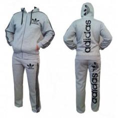 Trening Adidas Barbati gri - Trening barbati Adidas, Marime: S, M, L, XL, Culoare: Din imagine, Bumbac