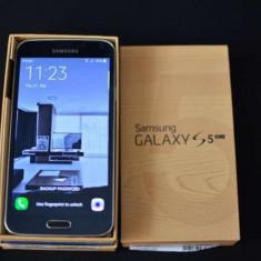 Samsung Galaxy S5+ - Telefon mobil Samsung Galaxy S5, Albastru, 16GB, Orange, Single SIM