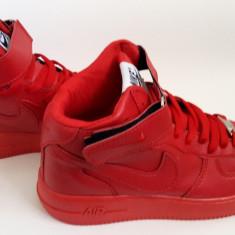 Ghete Nike Barbati Air Force rosu - Ghete barbati Nike, Marime: 36, 37, 38, 39, 40, 41, 42, 43, 44, Culoare: Din imagine, Piele sintetica