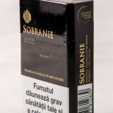 Pachet de tigari Sobranie Black, tigari ieftine