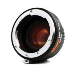 Obiectiv DSLR - ZY Optics Lens Turbo adaptor obiective Canon pentru Sony