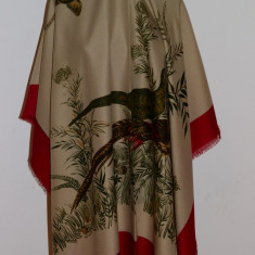 Batic Dama - BATIC / ESARFA MARE, MODEL VANATORESC, FAZANI