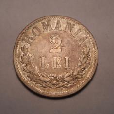Monede Romania - 2 lei 1875 Piesa de Colectie
