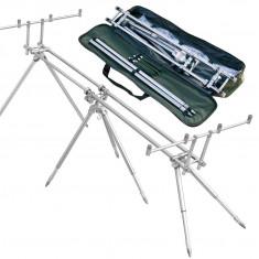 Rod pod Pescuit - Rod Pod 4 Posturi Model Nou Baracuda Foarte Robust + Geanta Transport Model 9