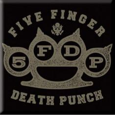 Magnet Five Finger Death Punch - Brass Knuckle