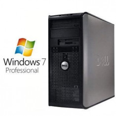 Sisteme desktop fara monitor - PC Refurbished Dell Optiplex 755 Mt E8400 Win 7 Pro