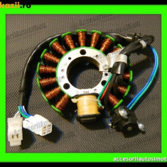 Electrica Moto - MAGNETOU YAMAHA MAJESTY 125 150 180 Teo's Magnetou 15+1 Poli Bobine 97MM