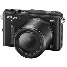 Aparat Foto compact - Aparat foto digital Nikon 1 AW1 + Obiectiv 1 NIKKOR AW 11-27.5mm f/3.5-5.6 (black)