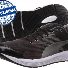 Adidasi barbat Puma Sequence - adidasi originali - running - adidasi alergare - Adidasi barbati Puma, Marime: 42, 43, 44, 44.5, 45, Culoare: Negru, Textil