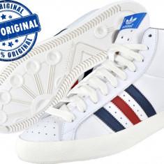 Adidasi barbati, Piele naturala - Adidasi barbat Adidas Originals Basket Profi - adidasi originali - ghete