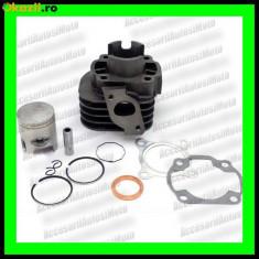 Set cilindri Moto - Kit Cilindru Piston Segmenti scuter APRILIA SR 50 Scarabeo 49cc 50cc racire aer