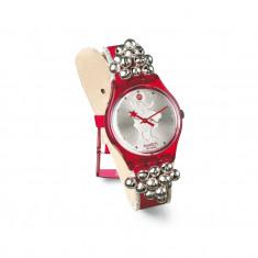 Ceas Swatch GZ408 'Jingle Jangle' – editie limitata Craciun (curea cu zurgalai) - Ceas dama Swatch, Casual, Quartz, Analog, Nou, Diametru carcasa: 34