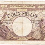 4) Bancnota 2000 lei 1941