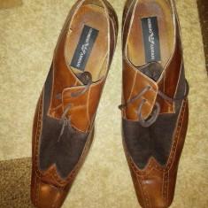 Pantofi barbati - Pantofi Giorgio Armani originali-200 ron