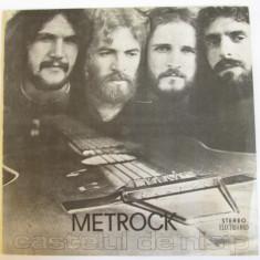 VINIL L.P. METROCK ALBUMUL CASTELUL DE NISIP IN STARE F.BUNA - Muzica Rock electrecord