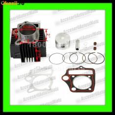 Set cilindri Moto - CILINDRU ATV 110CC 4T PISTON 52MM set motor ATV 110cc
