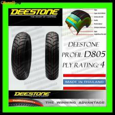 Anvelope scutere - CAUCIUC 100/80-17 100x80x17 ANVELOPA 100-80-17 DEESTONE D805 THAILAND Scuter