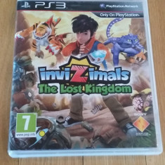JOC PS3 INVIZIMALS THE LOST KINGDOM ORIGINAL / by WADDER - Jocuri PS3 Sony, Actiune, 3+, Multiplayer