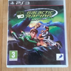 JOC PS3 BEN 10 GALACTIC RACING ORIGINAL / by WADDER - Jocuri PS3 Altele, Curse auto-moto, 3+, Multiplayer