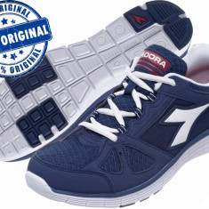 Adidasi barbat Diadora Hawk 3 - adidasi originali - running - adidasi alergare - Adidasi barbati Diadora, Marime: 40.5, 41, 42, 43, 44, 45, 46, Culoare: Indigo, Textil