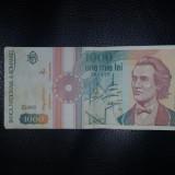 Bacnota 1000 lei 1991 !!
