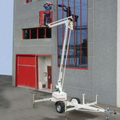 Utilitare auto - Nacela de lucru la inaltime 12 m - tractabila - Matilsa Parma 12