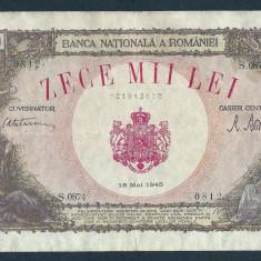 Bancnote Romanesti, An: 1945 - ROMANIA 10000 10.000 LEI 18 MAI 1945 [18]