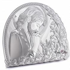 Icoana din Argint 925, Iisus Hristos, 11x9.5cm