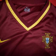 Tricou Nike Portugal(adidas umbro portugalia ronaldo messi football uefa joma) - Set echipament fotbal Nike, Marime: L