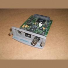 Placa de retea Imprimanta HP Jetdirect 600N Ethernet J3111A - Sistem server