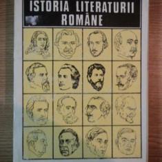 Studiu literar - ISTORIA LITERATURII ROMANE de AL. PIRU, 1994