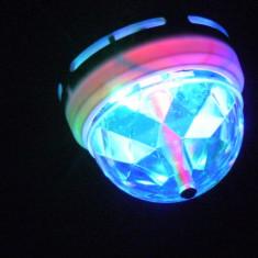 Bec rotativ tip orga lumini LED dulie E27 - Efecte lumini club