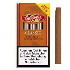 TIGARETE / TIGARI DE FOI Handelsgold CLASSIC cigarillos - Tigari foi