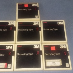 BANDA AUDIO VIDEO 3M SCOTCH, RECORDING TAPE, 7 BUCATI .
