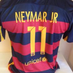 Set echipament fotbal - SET ECHIPAMENT NEYMAR FC BARCELONA 11-12ANI (152)