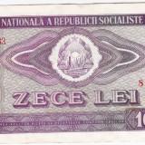 1) Bancnota 10 Lei 1966 VF