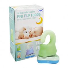 Resigilat - Lampa de veghe PNI ELF1000S pentru camera copii - Baby monitor