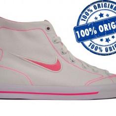 Adidasi dama Nike Capri Mid - adidasi originali - tenisi panza, Textil
