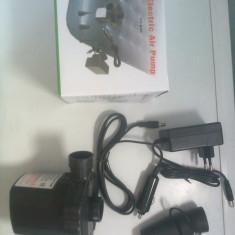 Pompa electrica pentru umflat saltea ! Conectare la priza auto si casa - Pompa Auto
