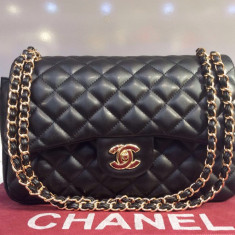 Geanta Dama Chanel, Geanta de umar, Asemanator piele - Geanta Chanel Jumbo * Diferite Culori * Piele Ecologica First Class Premium *