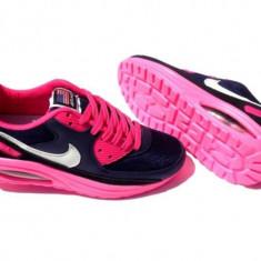 NIke Air Max Walkmaxx - Adidasi dama Nike, Marime: 36, 37, 38, 39, 35, Culoare: Bleumarin, Textil