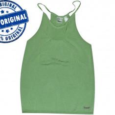 Maieu dama Reebok Framefold - maieu original - maieu sport - tricou tenis - Maiou dama Reebok, Marime: M, Culoare: Verde