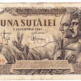 Bancnota 100 lei 5 decembrie 1947 (7), An: 1947