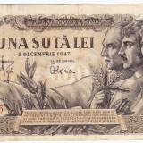 Bancnota 100 lei 5 decembrie 1947 (8), An: 1947