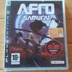 JOC PS3 AFRO SAMURAI ORIGINAL / by WADDER - Jocuri PS3 Namco Bandai Games, Actiune, 18+, Single player