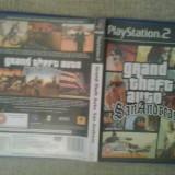 Jocuri PS2, Actiune, 18+, Multiplayer - Grand Theft Auto San Andreas - GTA - JOC PS2 ( GameLand )